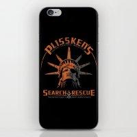 Snake Plissken's Search & Rescue Pty. Ltd. iPhone & iPod Skin