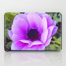 Pink Poppy Anemone I iPad Case