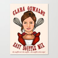 Clara Oswald's Easy Souf… Canvas Print