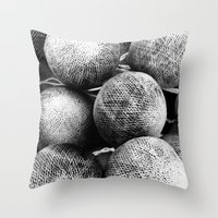 Negative Light No.2 Throw Pillow