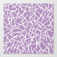 Kerplunk Orchid Canvas Print