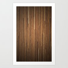 Wood #2 Art Print