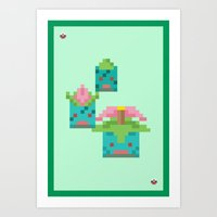 Green Family Art Print