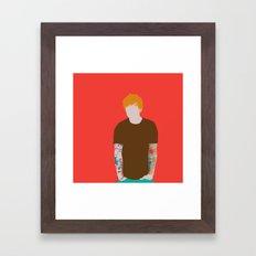 Mr Ed Framed Art Print