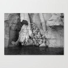 born in rome Canvas Print