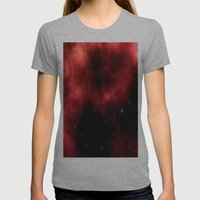Nebula III Womens Fitted Tee Athletic Grey SMALL