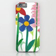 Birthday Flowers iPhone 6 Slim Case