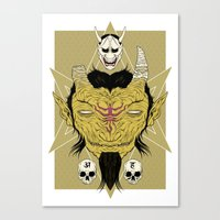 Tatarigami Canvas Print