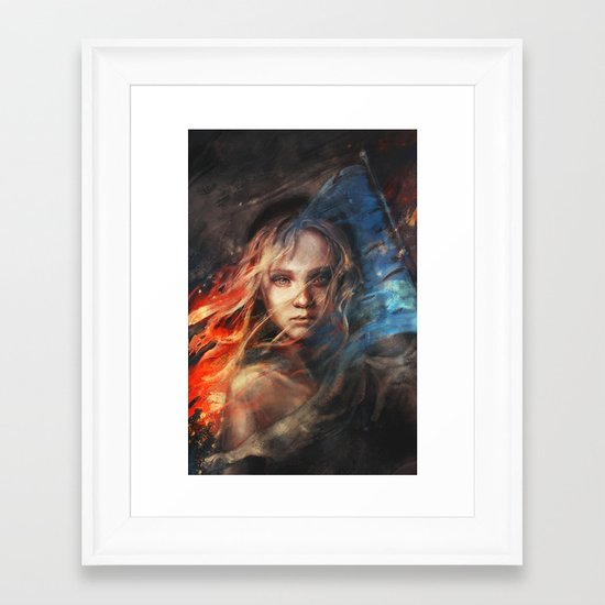 Do You Hear the People Sing? Framed Art Print