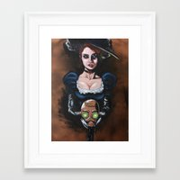 Salomé Steam Framed Art Print