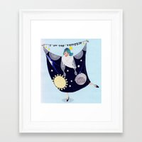 Universe Framed Art Print