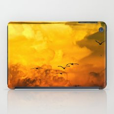 Flight at the Golden Hour iPad Case