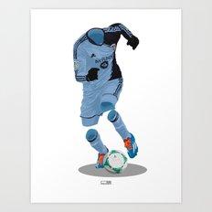 Sporting Kansas City 2013 - MLS Cup Winners Art Print