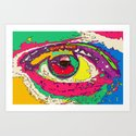 Aye, Eye Art Print