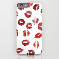 iPhone & iPod Case featuring Pucker Up by All Is One