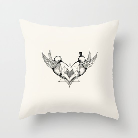 'Valentine's Day' Throw Pillow
