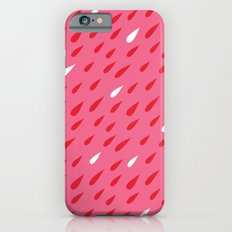 Red + Pink Droplets iPhone 6 Slim Case