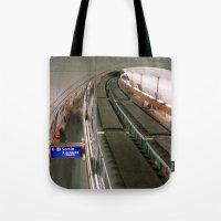 Paris Saint Michel Metro… Tote Bag