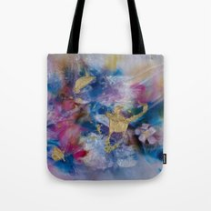 Golden Harvest Painting Tote Bag