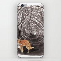 I Am A Fox iPhone & iPod Skin
