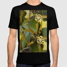 Sunny Orchid Mens Fitted Tee Black SMALL