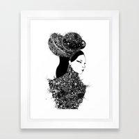 She`s A Lady Framed Art Print