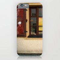 iPhone & iPod Case featuring Czech Restaurant, Prague by Serenity Photography