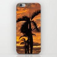 Super Typhoon Sunset iPhone & iPod Skin