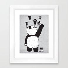 Pandalism Framed Art Print