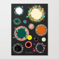 The Planets Print Two Canvas Print