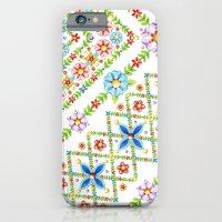 Millefiori Floral Lattice iPhone 6 Slim Case