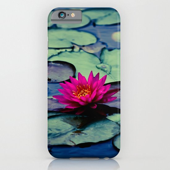 Twilight at the Lily Pond iPhone & iPod Case
