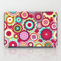 Bright Flower Dash iPad Case