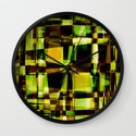 Abstract Achitecture Wall Clock