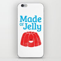 Made Of Jelly iPhone & iPod Skin
