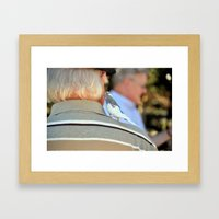 Secrets Told Framed Art Print