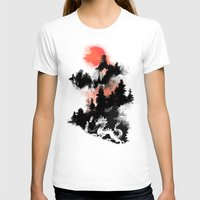 dragon T-shirts featuring Samurai's life by Picomodi
