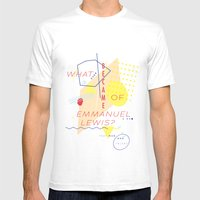 Webster Mens Fitted Tee White SMALL