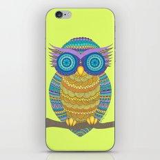Henna Owl iPhone & iPod Skin
