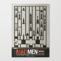 MADMEN Canvas Print