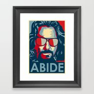 Abide Framed Art Print