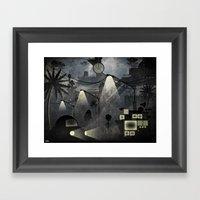 Dark Future Framed Art Print