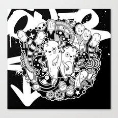 Wurmey Canvas Print