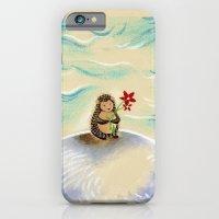 Hedgie + flower iPhone 6 Slim Case