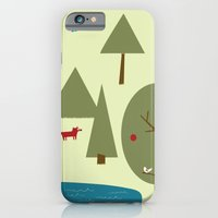 Fox in the Forest iPhone 6 Slim Case
