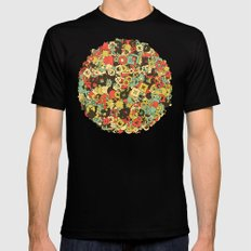Nineteen Shapes Mens Fitted Tee SMALL Black