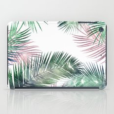 tropical leaves 2 iPad Case
