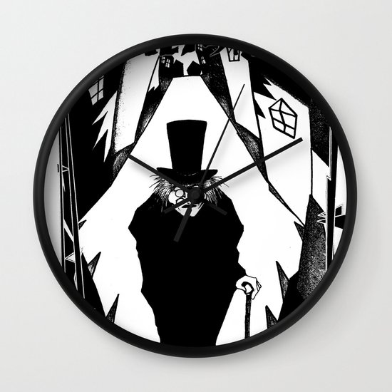 Dr. Caligari Wall Clock