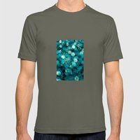 blue Mens Fitted Tee Lieutenant SMALL