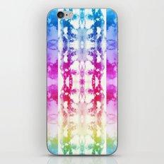 Tie Dye Rainbow iPhone & iPod Skin